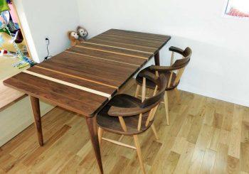 ウォールナットの家具