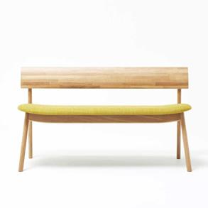 ヤマナミ ベンチ|匠工芸|たくみこうげい