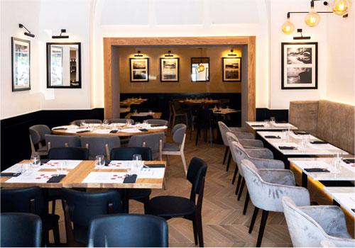 家具リース例|飲食店舗用のイス・テーブル