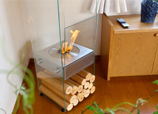 家具中心のリフォーム エコスマートファイヤー